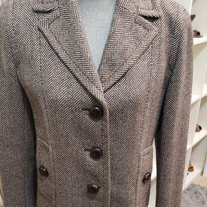 Woven Tweed Blazer